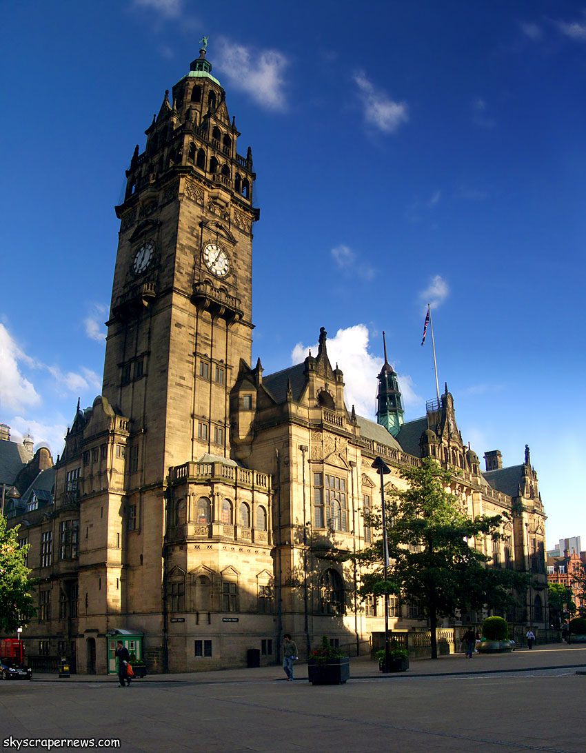 Townhall for The sheffield